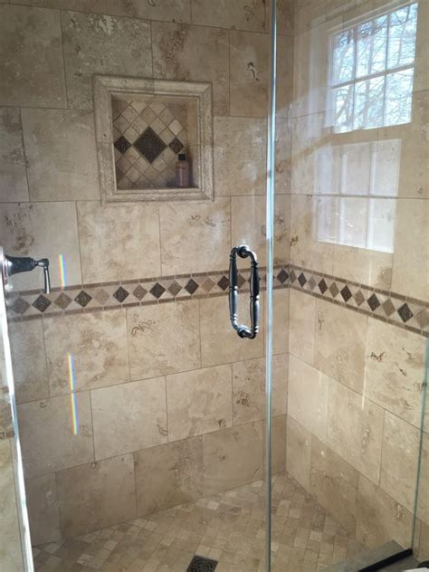 design my bathroom my bathroom renovation travertine tile and custom