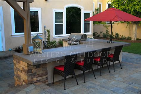 backyard bbq island san diego landscaper western outdoor design build bbq