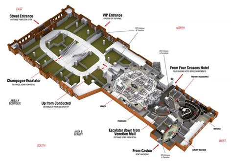 venetian hotel floor plan dfs galleria macau prepares to raise the luxury ante amid