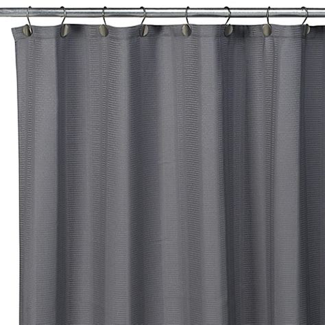 pewter shower curtain interdesign 174 weston fabric shower curtain pewter bed