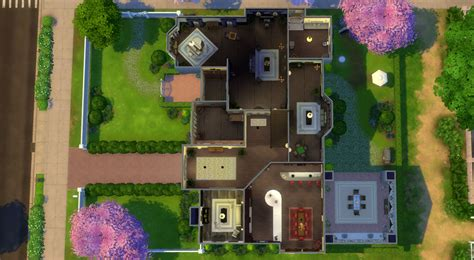 sims mansion floor plans building plans online 59335 download valentine s mansion in the sims 4 sims online