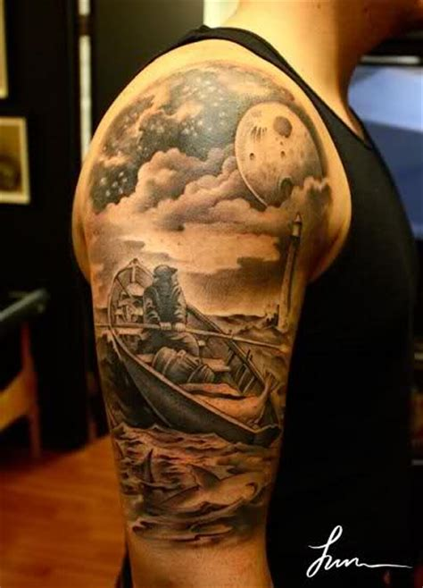 night sky tattoo designs by jun cha absolutely amazing work xtreme