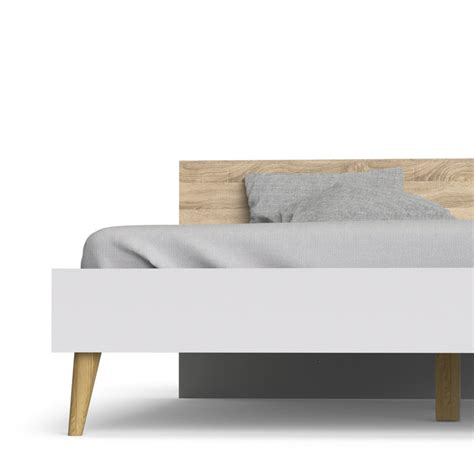 Bed 180 X 200 modern retro style bed oslo 180 x 200