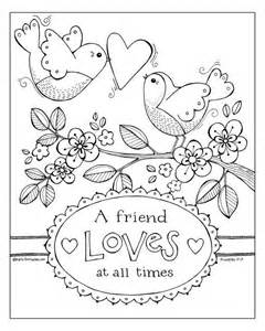 A Friend At All Times Coloring Page pin by hopson on freedom friends