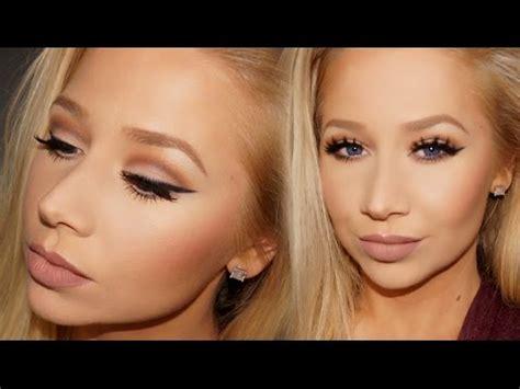 Blush On Emina Cheek Lit Blush On talk thru makeup tutorial feat d shade light eye contour palette la
