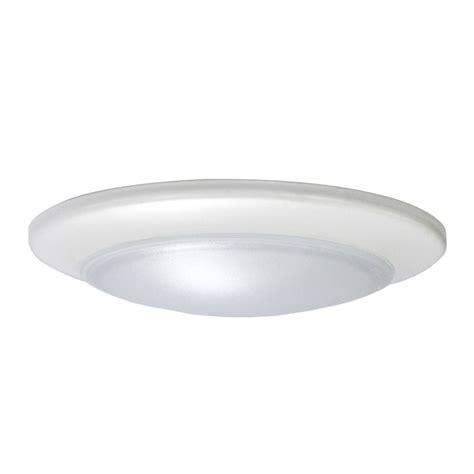 LED Low Profile White Flush Mount Ceiling Light   60 Watt