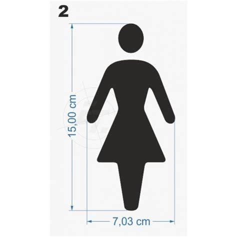 Aufkleber Auto Frauen by Wc Aufkleber Mann Frau Standardpiktogramm