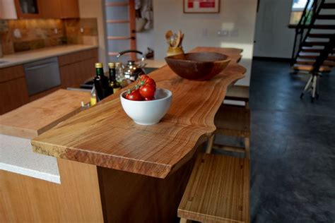 Maple Bar Top by Live Edge Spalted Maple Bartop Renovation Unit 1