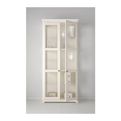 White Glass Door Cabinet by Liatorp Glass Door Cabinet White 96x215 Cm