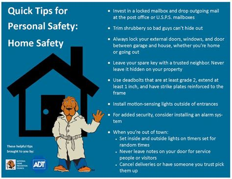 212 Best Home Safety And Emergency Tips Images Crime Prevention Month Tips High Voltage Defense