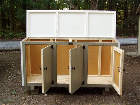 Trash Can Shed Plans by Shedfor Shed Building