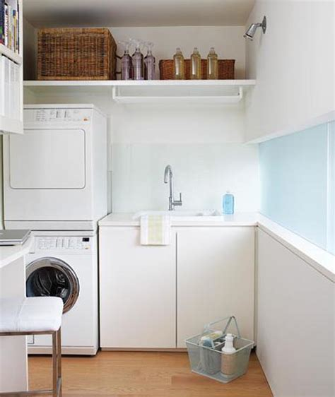 wood furniture laundry room design ideas