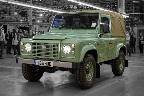land rover defender the last land rover defender uncrate