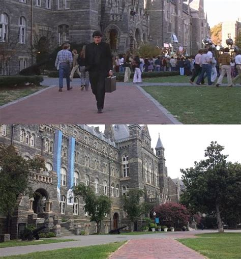 Exorcist Film Locations | the exorcist filming locations then and now