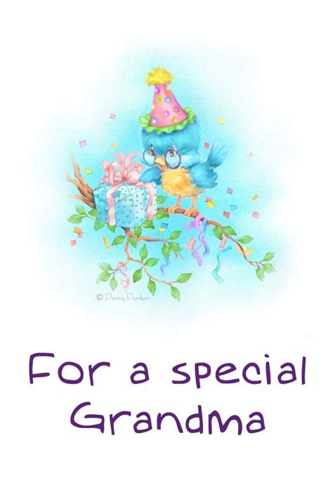 printable birthday cards for grandma free printable for a special grandma greeting card