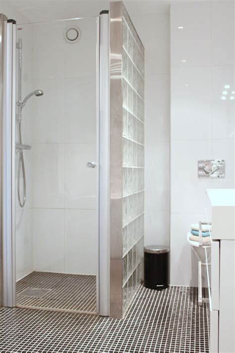 badezimmer 94 spiel die besten 25 glasbausteine dusche ideen auf