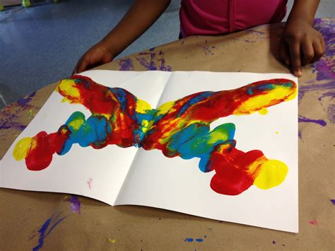 How To Make Butterflies Out Of Construction Paper - splats scraps and glue blobs an oldie but goodie