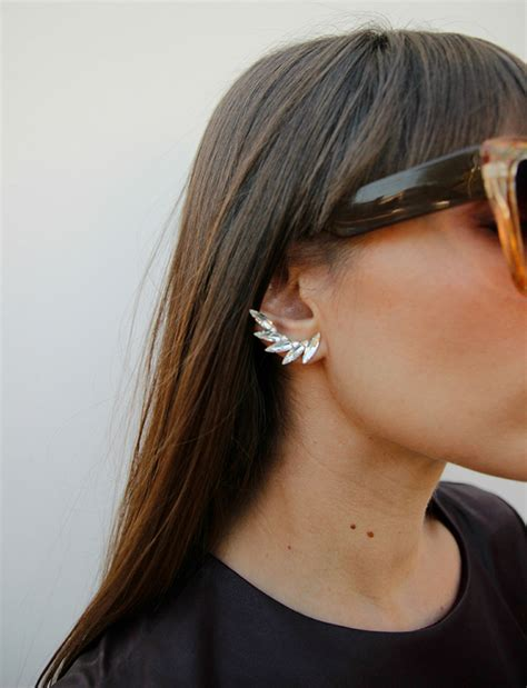Chic Of The Week Stapler Earrings by Chic Of The Week Emily The Monochromatic Maven