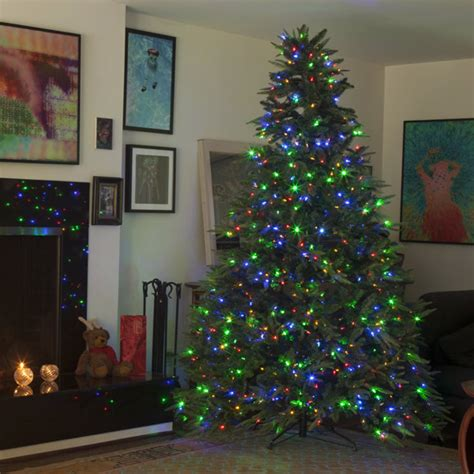 4 white tree with colored lights best 28 color lights tree 17 best ideas