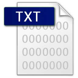 txt icons, free icons in File Icons Vs. 2, (Icon Search ... .txt