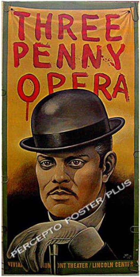threepenny opera  paul davis art broadway theatre