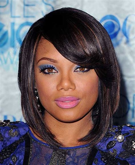 layered long bob hairstyles for black women long layered and feathered wig hairstyle for black women