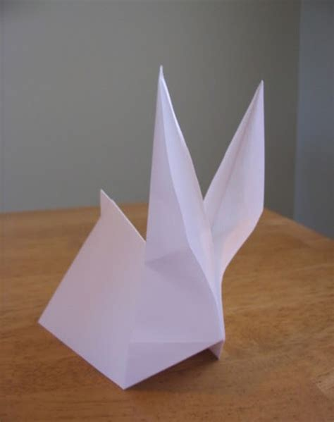 Paper Folding Rabbit - expattern rabbit bunny pattern origami