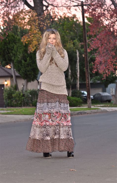 style your trendy plus size maxi dresses for fall winter