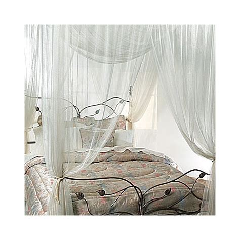 bed canopy bed bath and beyond majesty ivory large bed canopy bed bath beyond