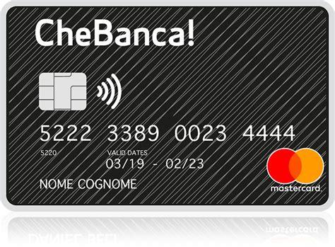 conto deposito unipol la carta di credito di chebanca scoprila chebanca
