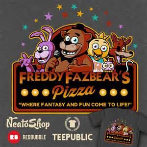 Freddy fazbears pizza by ninjaink on deviantart