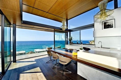 modern beach homes modern beach house with glass front and a wonderful sea