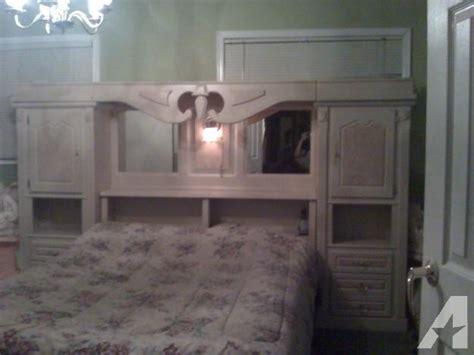 Bedroom Nightstands For Sale Complete Bedroom Set Nightstands Attached To Headboard