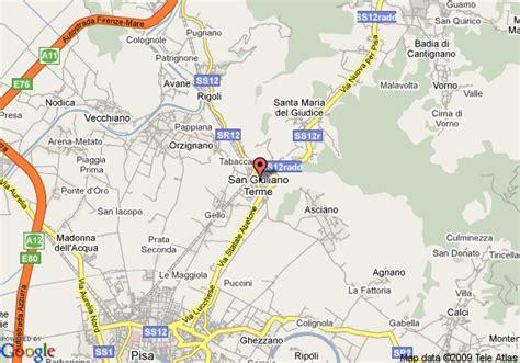 bagni di san giuliano terme map of bagni di pisa terme hotel san giuliano terme