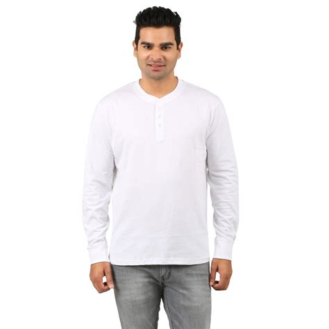 White Henley Shirt by Buy White Henley T Shirt For At Lowest Price Whhet41773pqv06613 Kraftly