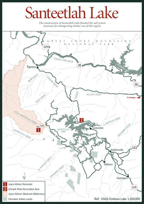 map carolina mountains sherpa guides carolina mountains santeetlah