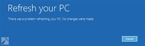 hp resetting your pc 1 2018 fix there was a problem resetting your pc in windows