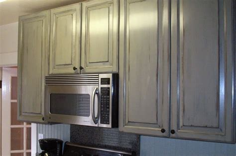 antique painted kitchen cabinets kitchen cabinets with antique paint finish for cottage