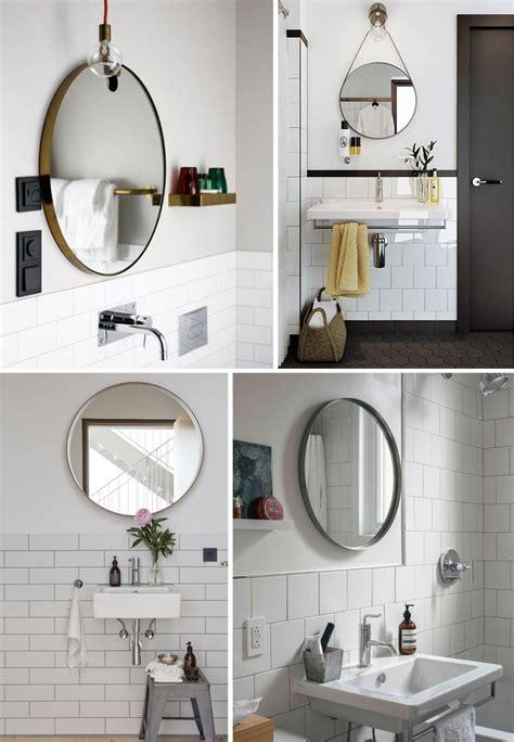 Easy bathroom decor refreshround mirror anne sage and round mirrors 2017 savwi com