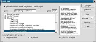 Bewerbungsabsage Bewerbung Behalten Easylinux Easylinux 09 2003 Openoffice Tipps