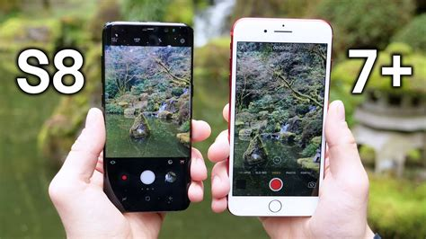 Harga Samsung S8 Dan Iphone 7 Plus test galaxy s8 vs iphone 7 plus unbox id