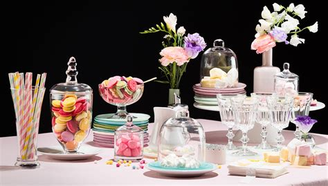 D眺朝転coration De Table Anniversaire Buffet De Bonbons Archives Le D 233 Co De Mlc