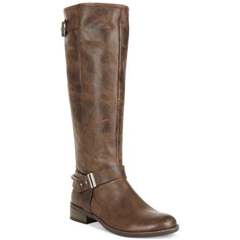 steven by steve madden ryley boots in brown brown