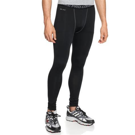 nike pro combat longpants nike pro combat hyperwarm compression in black for