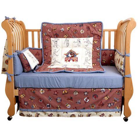 Baseball Crib Bedding Sets Negro League 4 Crib Bedding Set