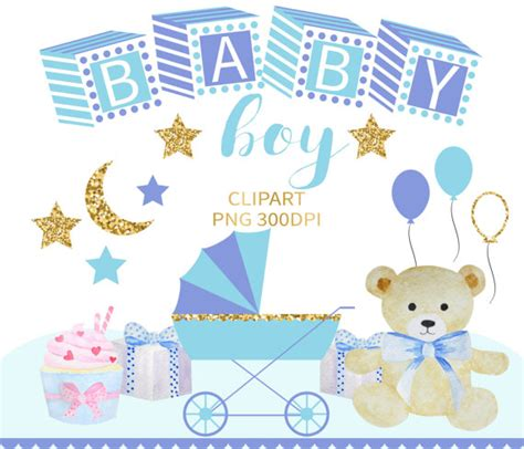 popular items for baby boy clipart on etsy baby shower baby boy clipart baby clip baby clipart baby shower