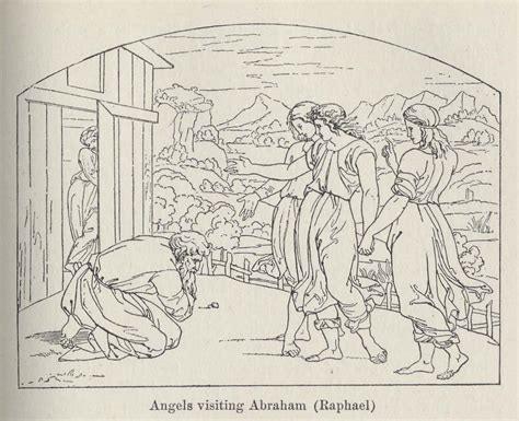 angels visit abraham coloring page 96 angels visit abraham coloring page abraham