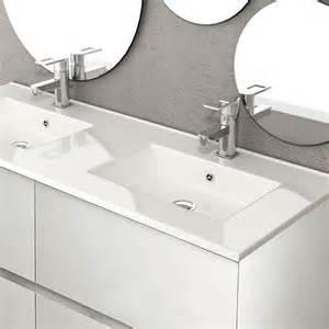 Ordinaire Meuble Sous Vasque Double #1: meuble-salle-de-bain-121-cm-blanc-brillant-double-vasque-kyoto-l.jpg