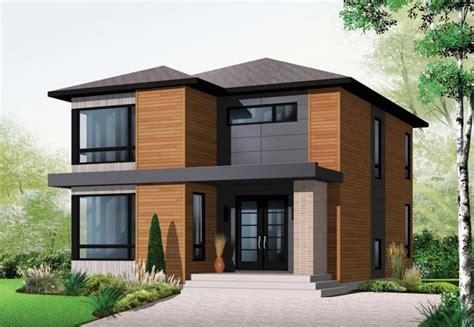 Bi Level House Plans With Attached Garage by Ideas Para Casas En Terrenos Peque 241 Os Construye Hogar