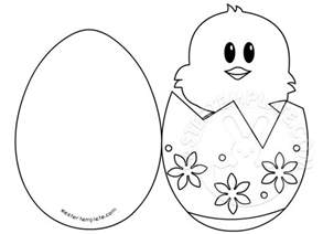 easter templates easter ideas in egg card easter template